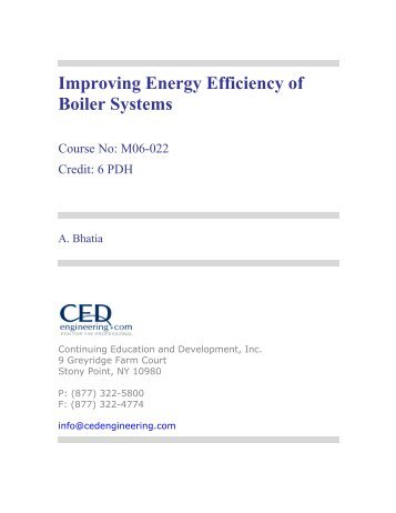 Boiler Classification and Application (790 KB) - CED Engineering