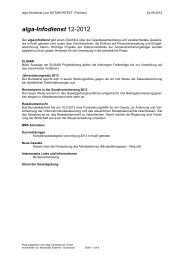 alga-Infodienst 12-2012 - DATAKONTEXT
