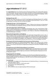 alga-Infodienst 07-2012 - DATAKONTEXT