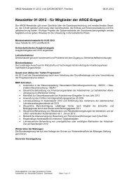 Newsletter 01-2012 - für Mitglieder der ARGE ... - DATAKONTEXT