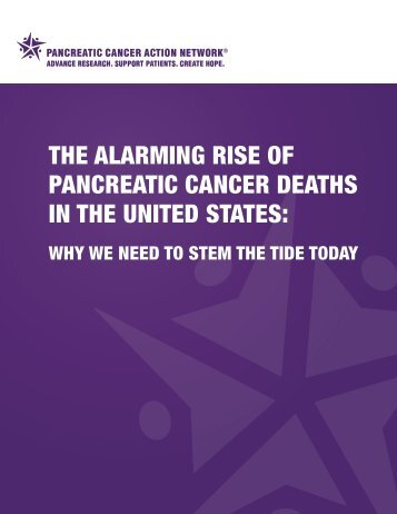 The Alarming Rise of Pancreatic Cancer Deaths in the United States