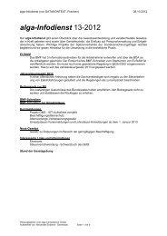 alga-Infodienst 13-2012 - DATAKONTEXT