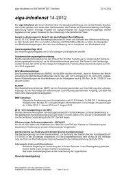 alga-Infodienst 14-2012 - DATAKONTEXT