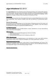 alga-Infodienst 02-2013 - DATAKONTEXT