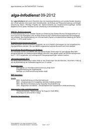 alga-Infodienst 09-2012 - DATAKONTEXT