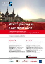STEP Swiss European Annual Conference - trusts.ch
