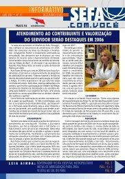 Informativo nº 91 - dezembro - Sefa
