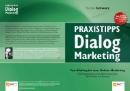 Praxistipps Dialogmarketing - Absolit