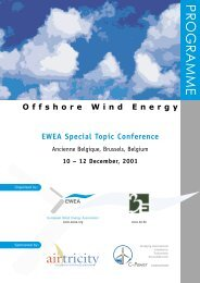 Offshore Wind Energy – EWEA Special Topic Conference