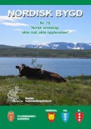 NORDISK BYGD - Nordisk Kulturlandskapsforbund