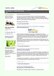 2012-03-15 Newsletter ByD.pdf - Data One GmbH