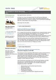 2012-09-03 Newsletter ByD.pdf - Data One GmbH