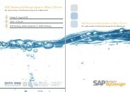SAP Business ByDesign Queen Mary Event - Data One GmbH