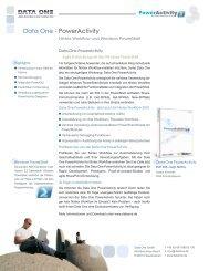 Data One - PowerActivity - Data One GmbH