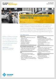 TELEFUNKEN Semiconductors GmbH & Co KG - Download - SAP ...