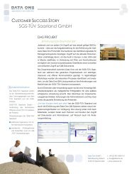 Success Story TUEV Saarland US Letter.indd - Data One GmbH