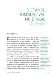 O ETANOL COMBUSTíVEL NO BRASIL