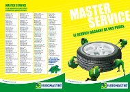 Master Service - Euromaster Suisse