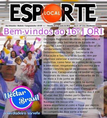 Esporte Local edição 114 - Jornal Esporte Local