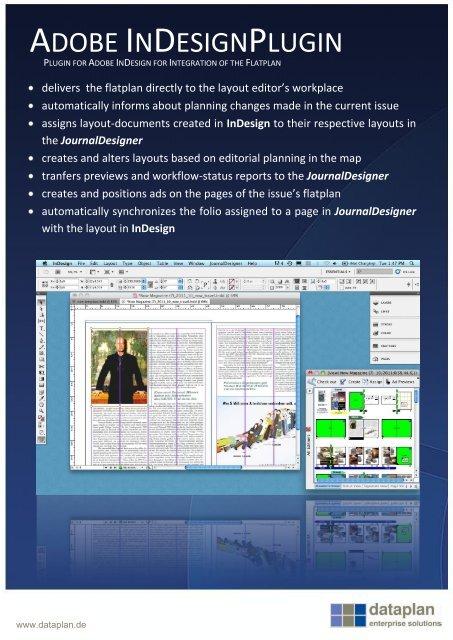 Adobe InDesign PlugIn - dataplan