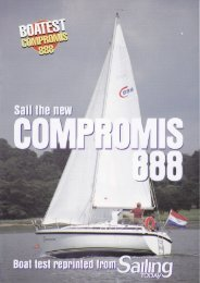 Compromis 888 - Sailing Today - C-Yacht