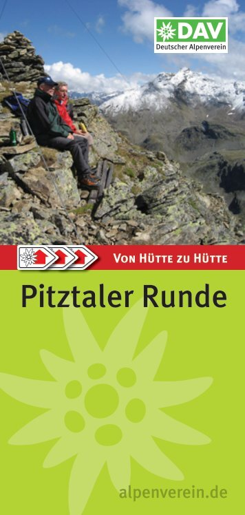 Pitztaler Runde - DAV Sektion Rüsselsheim