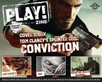 cover story Tom Clancy's Splinter Cell: - Besplatni magazin - PLAY ...