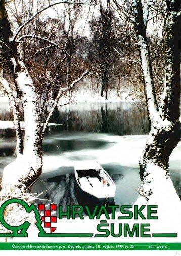 HRVATSKE ŠUME 26 - 2/1999
