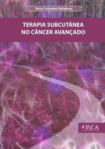 terapia subcutânea no câncer avançado - BVS Ministério da Saúde