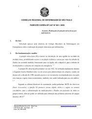 Nº 001-2009 – Realização de punção intra-óssea por ... - Coren-SP
