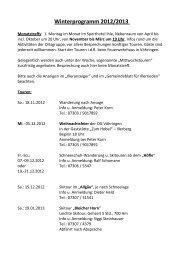 Winterprogramm 2012/2013 - (DAV) - Sektion Neu-Ulm