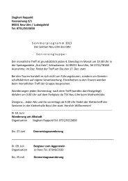 Programm Sommer 2013 - (DAV) - Sektion Neu-Ulm