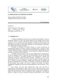 A LITERATURA E O EXISTENCIALISMO - UEM