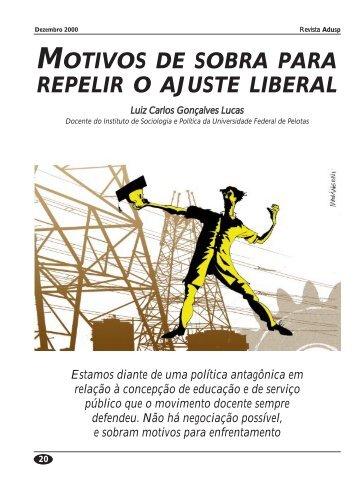 MOTIVOS DE SOBRA PARA REPELIR O AJUSTE LIBERAL - Adusp