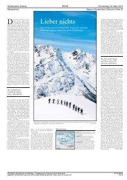 Skitourenwoche im Villgratental - DAV Summit Club
