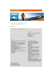 Ausrüstungsliste - DAV Summit Club
