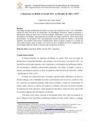 A Imprensa em Belém no Século XIX: As Décadas de ... - Intercom