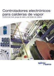 Controladores electrónicos para calderas de vapor - Spirax Sarco