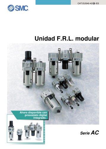 Unidad FRL modular Serie AC - SMC