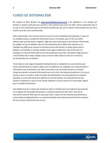 CURSO DE SISTEMAS EGR - Monografias.com