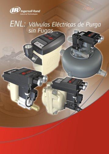 ENL: Válvulas Eléctricas de Purga sin Fugas