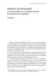 Ditadura ou Revolução? - Revista Comunicação e Cultura