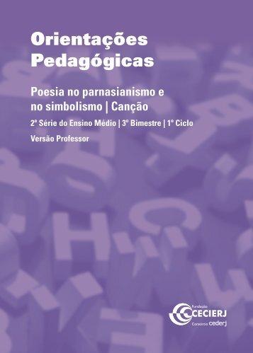 Orientações Pedagógicas - Cederj