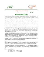 Consejos para ahorrar energía - Comisión Nacional para el Ahorro ...