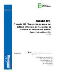 Adenda 1 - DIA Caldera Biomasa EISA - SEA - Servicio de ...