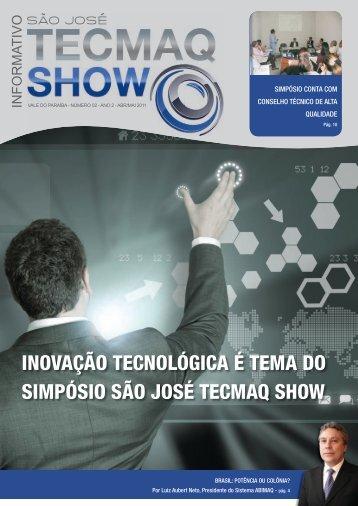 Informativo TecmaqShow - Vale do Paraíba - Número 2 - Ano 2