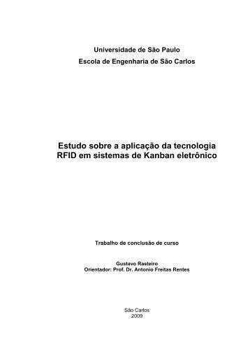 Estudo sobre a aplicação da tecnologia RFID em sistemas de ...