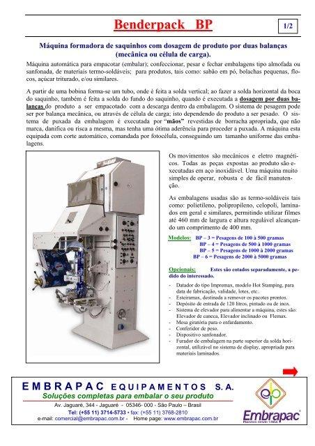 Clique para visualizar o folheto do produto - EMBRAPAC 5fa258ae3d3