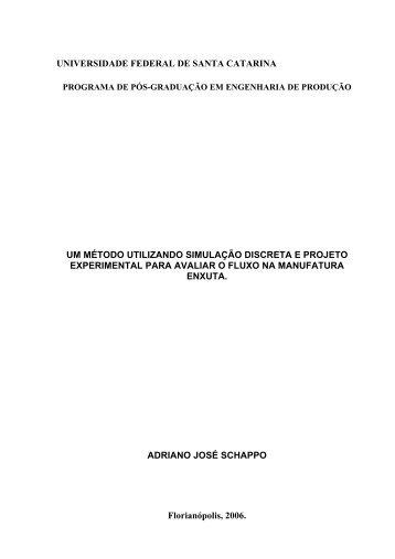 Um método utilizando simulação discreta e projeto experimental ...