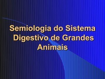 Aula Semiologia do Sistema Digestivo